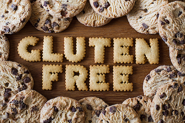 Gluten Free Text Made Out Of Cookies Photograph by Clare Jackson / EyeEm