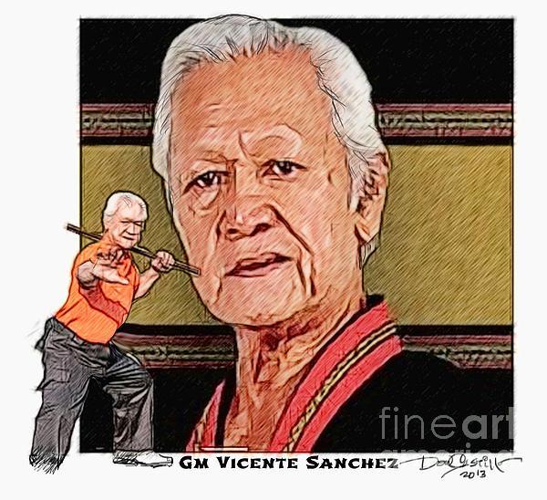 Kali Digital Art - Gm Vicente Sanchez by Donald Castillo