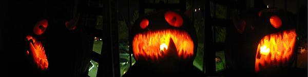 Pumpkin Sculpture - Going Up Pumpkin by Shawn Dall