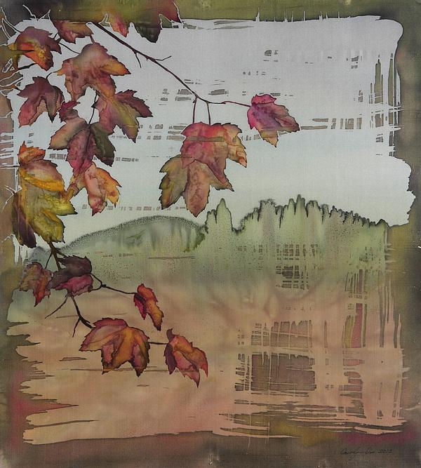 Maple Tapestry - Textile - Gold Ridge Maple by Carolyn Doe