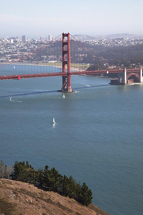 American Photograph - Golden Gate Bridge by Jenna Szerlag