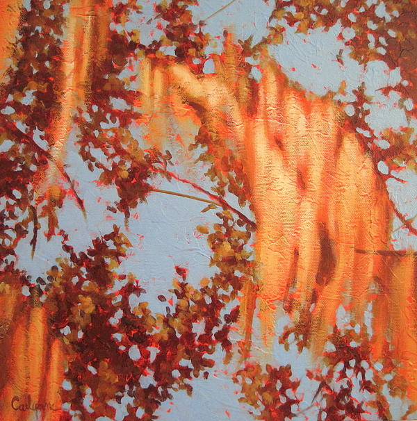 Landscape Painting - Golden Hour 3 by Carlynne Hershberger