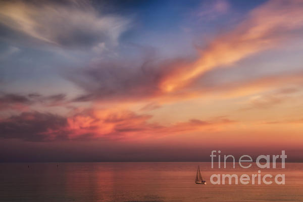 Sunset Photograph - Good Morning Cape Cod by Susan Candelario