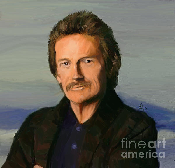 Canada Painting - Gordon Lightfoot by GCannon