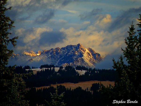 Landscape Photograph - Gore Range Sunrise by Stephen Barela