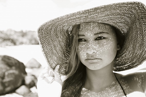Beach Photograph - Gorgeous Young Woman by Kicka Witte