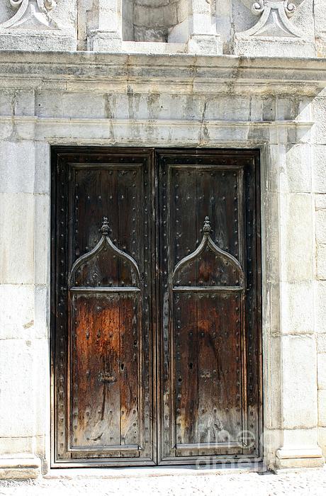 Door Photograph - Gothic Arabic by Sophie Vigneault