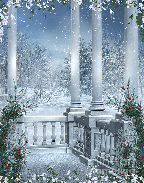 Gothic Photograph - Gothic Winter by Boon Mee
