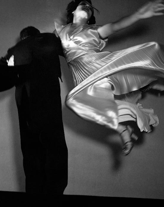 Grace And Paul Hartman Dancing Photograph by Edward Steichen