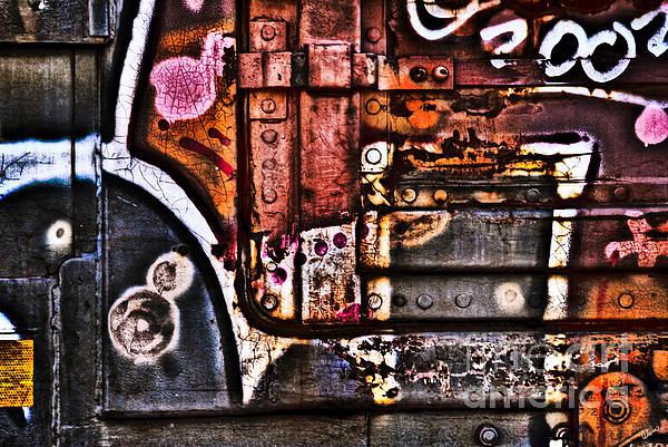 Box Car Photograph - Graffiti II by Alana Ranney