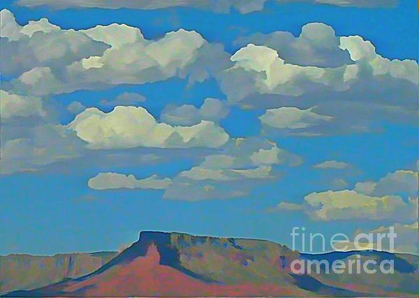 Grand Canyon Horizon Painting - Grand Canyon Horizon by John Malone
