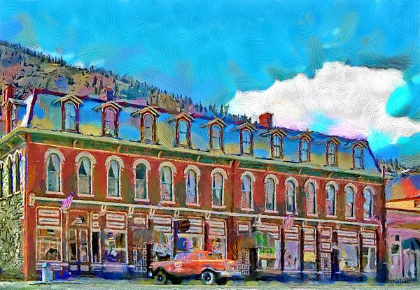Shop Painting - Grand Imperial Hotel by Jeff Kolker