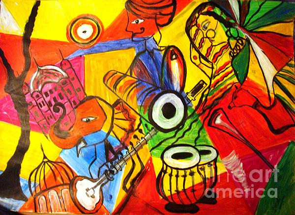 Grand Rajasthan  Painting by Sonali Singh