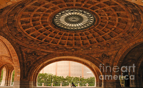 Apartment Photograph - Grand Rotunda Pennsylvanian Pittsburgh by Amy Cicconi