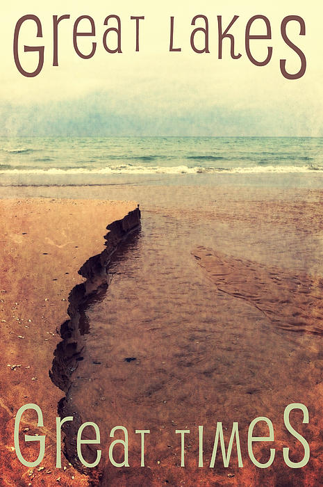 Great Lakes Photograph - Great Lakes Great Times by Michelle Calkins