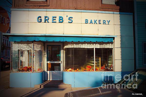 Sign Digital Art - Grebs Bakery Pittsburgh by Jim Zahniser