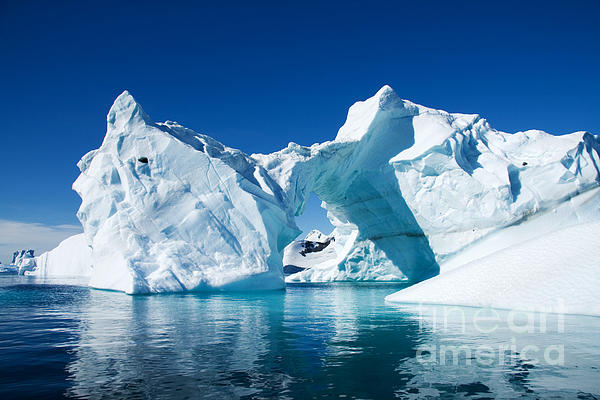 Greenland Photograph - Greenland Iceberg by Boon Mee