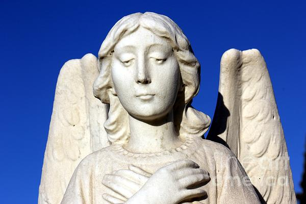 Angel Photograph - Guardian Angel 2 by Sophie Vigneault