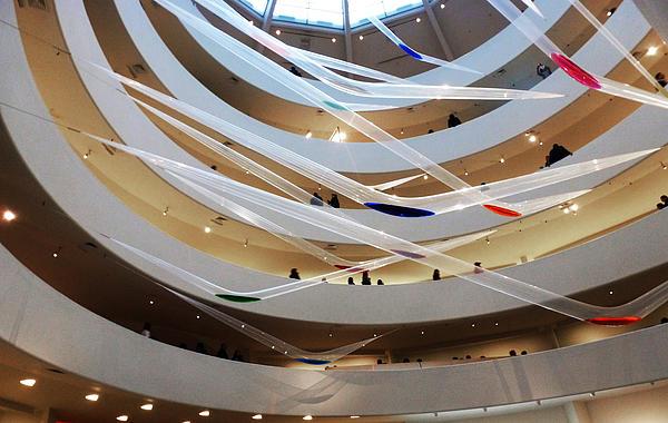 Guggenheim Photograph - Guggenheim Gutai by Christine Burdine