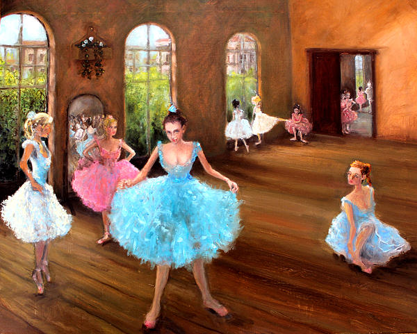 Hall Of Dance Painting - Hall Of Dance by Graham Keith