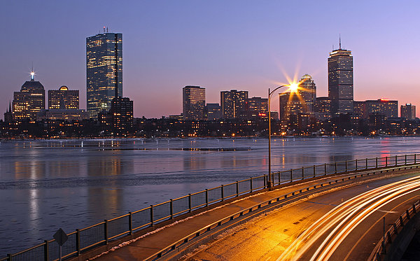 Boston Photograph - Hancock And Pru by Juergen Roth