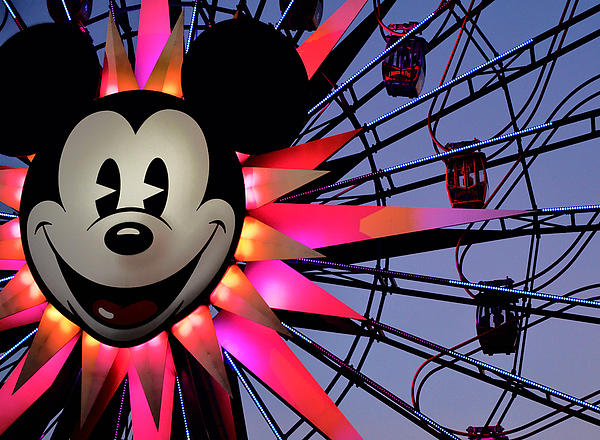 Mickey Photograph - Happy Times by Camille Lopez