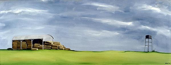 Natural Scenes Painting - Haybarn Dreaming by Ana Bianchi