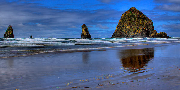 Cannon Beach Photograph - Haystack Rock And The Needles II by David Patterson