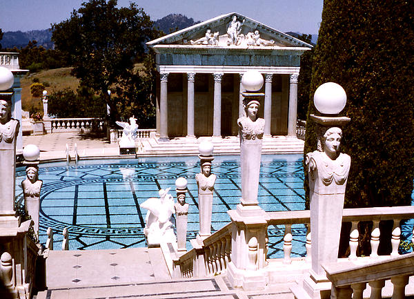 Hearst Castle - Roman Pool Photograph by Robert  Rodvik