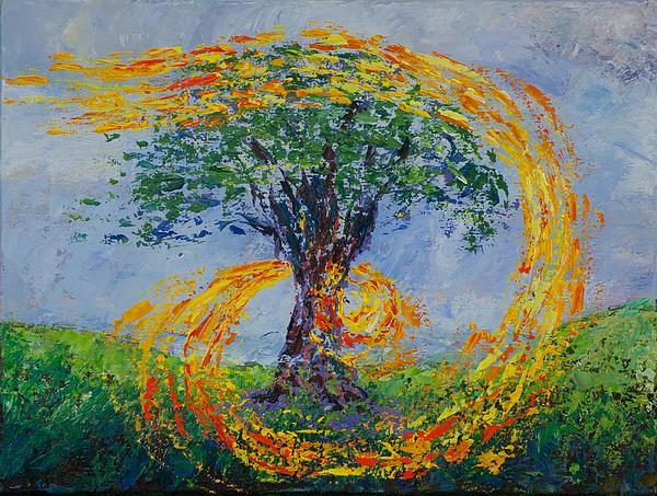 Killen Painting - Heart Strings by William Killen