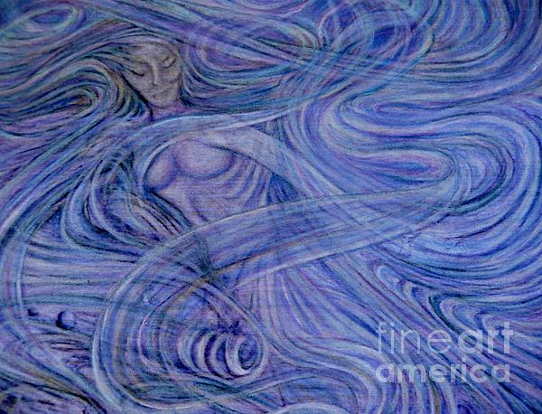 The Land Of Dreams Painting - Heavenly Hostess IIl by Jacquelyn Roberts