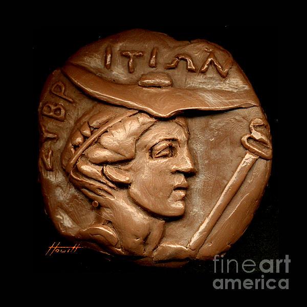 Hermes Sculpture - Hermes Or Mercury by Patricia Howitt