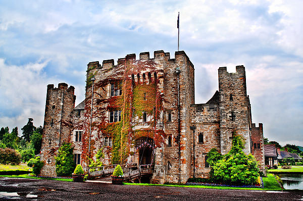 Anne Photograph - Hever Castle by Chris Thaxter