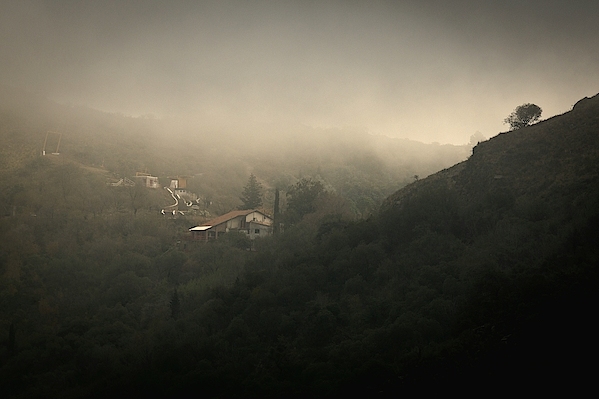 High Angle View Of Cosquin On Foggy Day Photograph by Andres Ruffo / EyeEm
