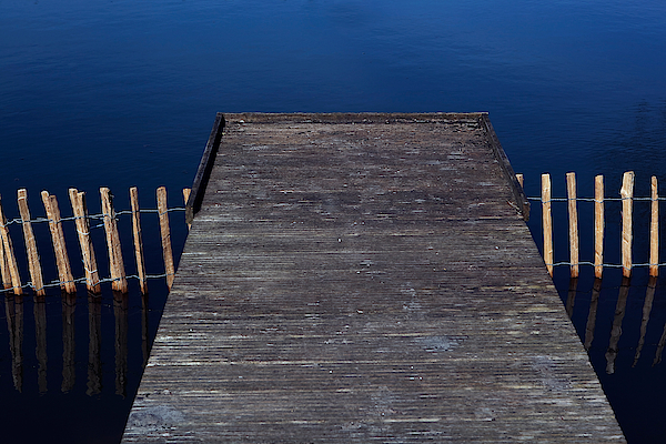 High Angle View Of Jetty Over Lake Photograph by Paulien Tabak / EyeEm