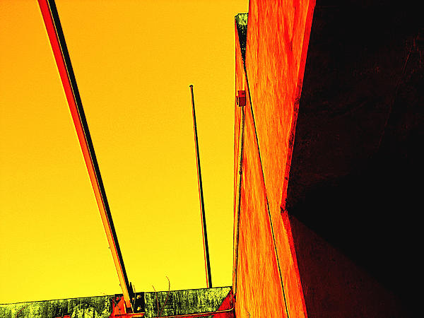 Yellow Digital Art - High Noon by Wendy J St Christopher