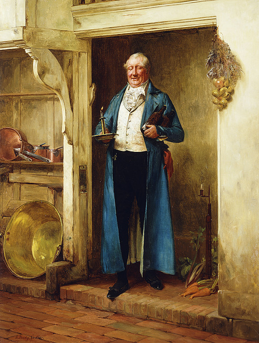 19th Century Painting - His Favourite Bin; And Testing by Walter Dendy Sadler