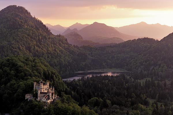 Alps Photograph - Hohenschwangau Castle by Francesco Emanuele Carucci