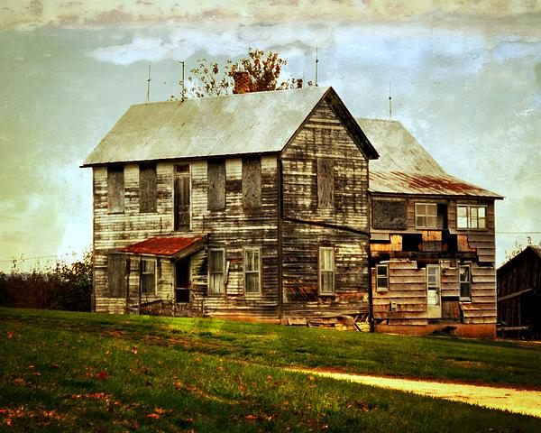 Rustic Photograph - Homestead by Marty Koch