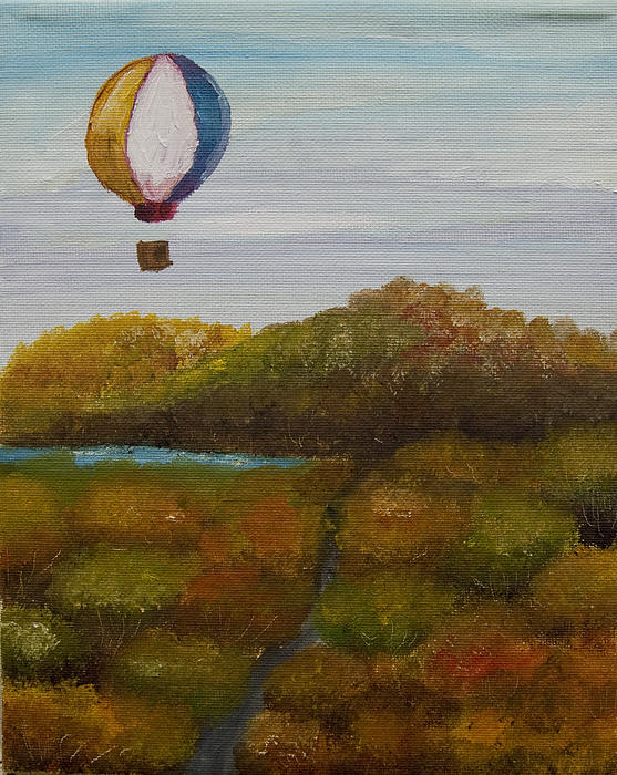 Hot Air Painting - Hot Air by Anthony Cavins