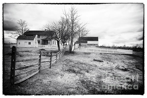 House Photograph - House In The Field by John Rizzuto