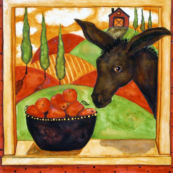 Kitchen Folk Art: Hubbs Art Folk Prints Debi Hubbs Whimsical Italian Tuscan