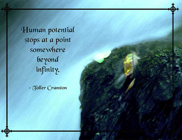 Quotation Photograph - Human Potential by Mike Flynn