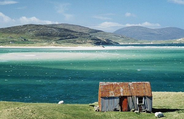 Photographic Photograph - Hut On West Coast Of Isle by Rob Penn