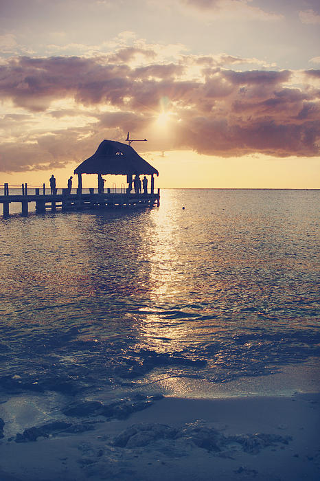 Cozumel Photograph - I Will Feel Eternity by Laurie Search