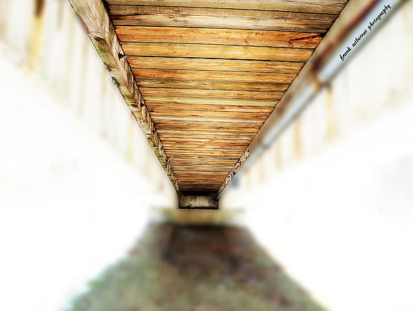 Tunnel Photograph - If You Can See The End You Have A Vision Better Than Most by Frank Sciberras