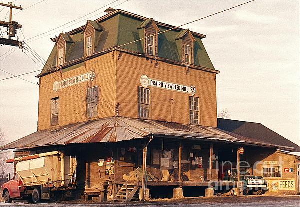 Illinois Feed Mill Photograph by Robert Birkenes