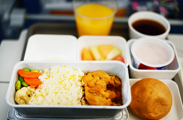 In Flight Meal - Economy Class Photograph by Cheryl Chan