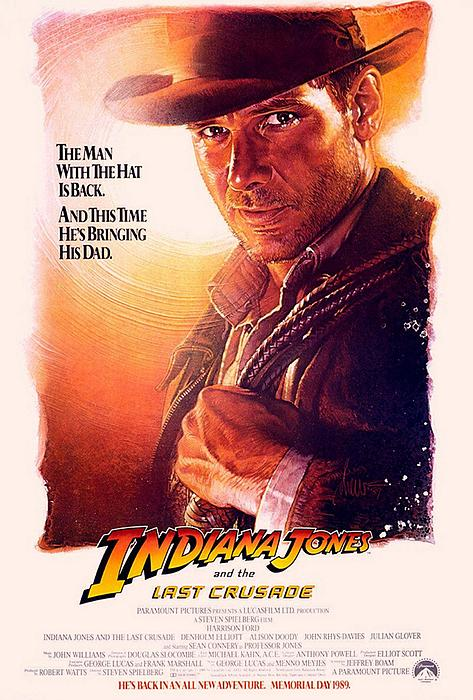 Indiana Jones Photograph - Indiana Jones And The Last Crusade  by Movie Poster Prints