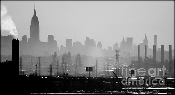 New York City Photograph - Industrial And Corporate by James Aiken
